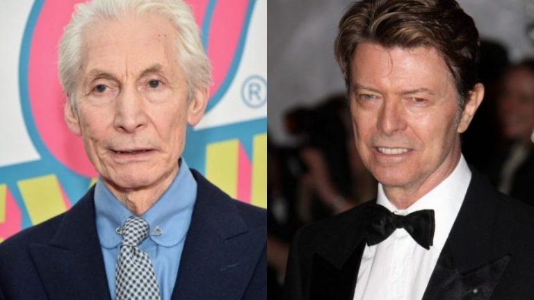 Charlie Watts David Bowie