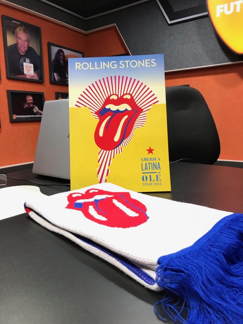 Concurso Rolling Stones Libro Bufanda 01 (Grande)