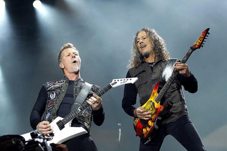 Metallica Perform In Belgrade