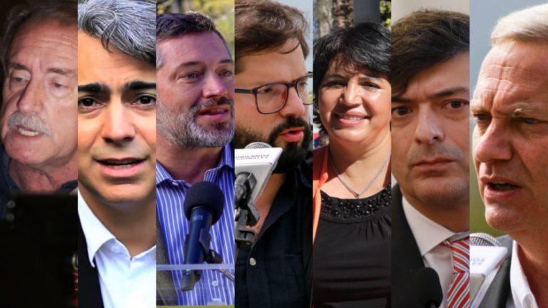 Candidatos Presidenciales Primera Vuelta 2021