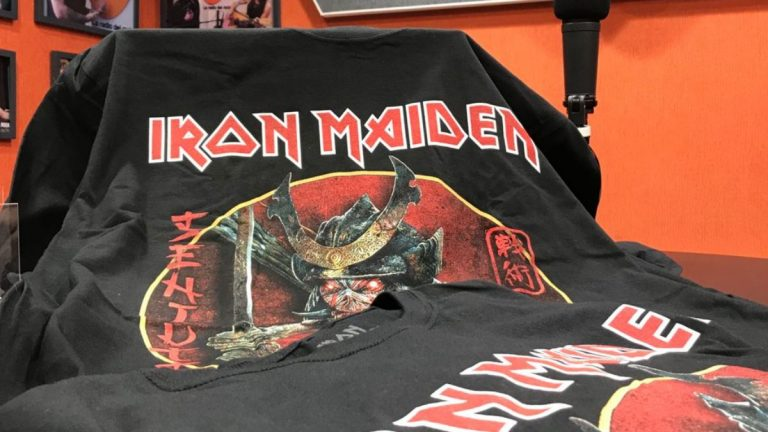 Iron Maiden polera
