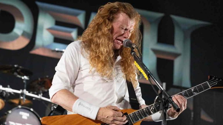 Dave Mustaine 2021