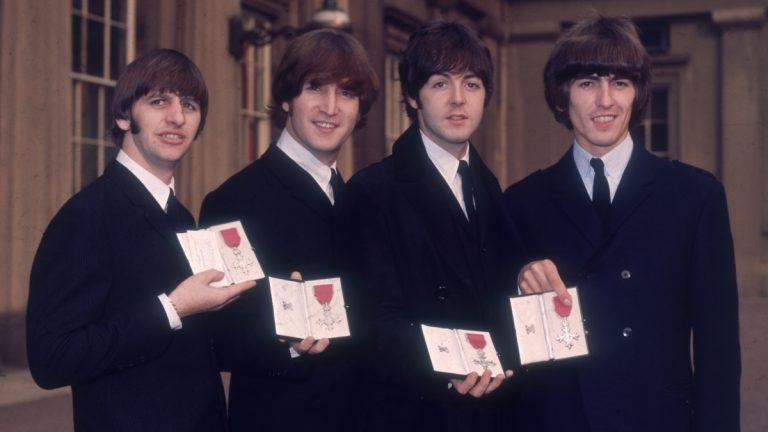 Beatles 1965 MBE