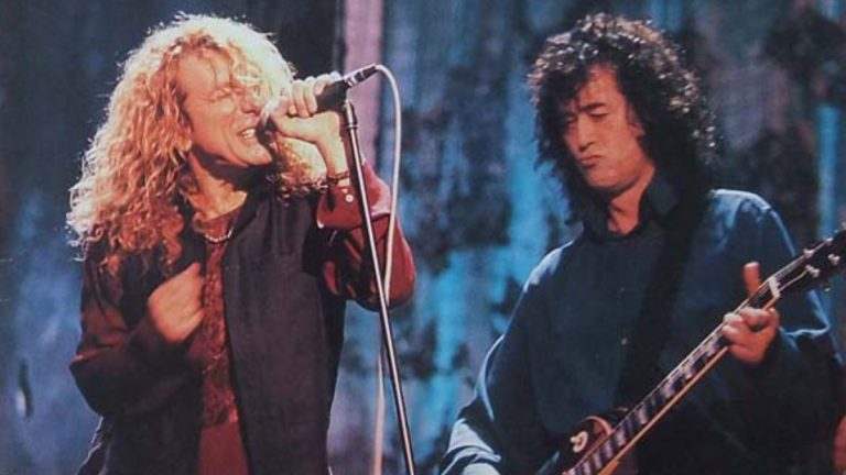 Jimmy Page Robert Plant Unledded