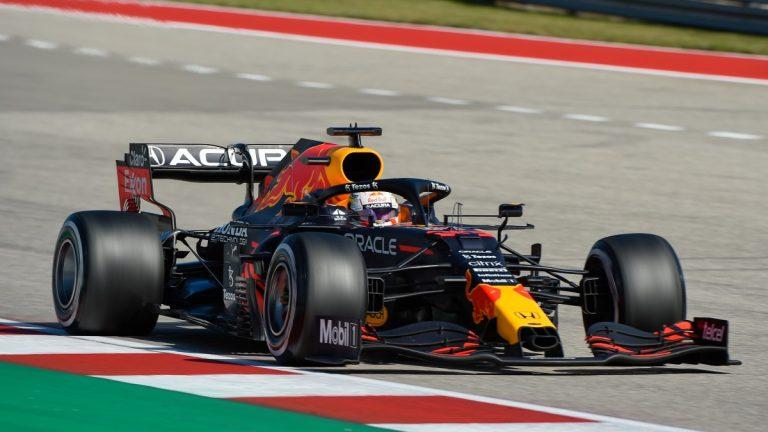 Max Verstappen 2021 Texas Fórmula 1