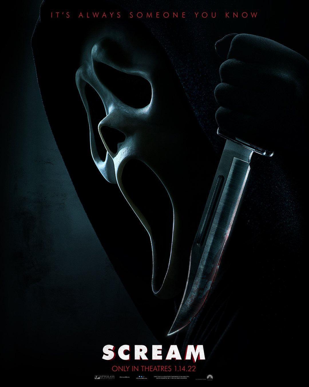 Scream 2022 Poster