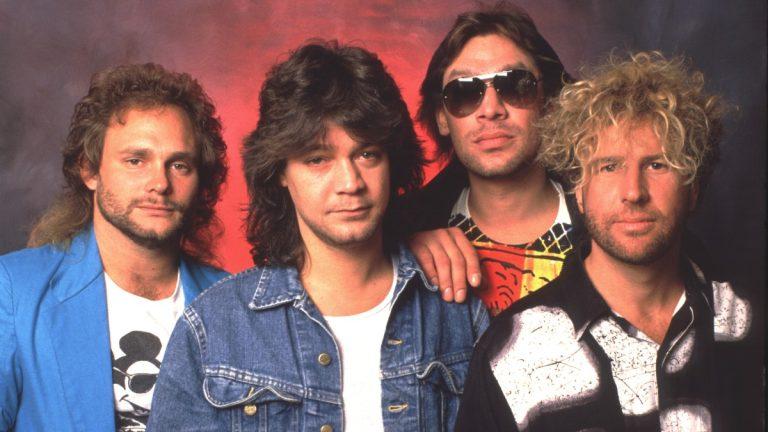 Van Halen 1985 Sammy Hagar